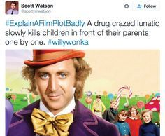 """You right, you right.   21 Of The Funniest Tweets From The """"Explain A Film Plot Badly"""" Hashtag"""
