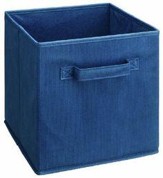 Amazon.com: ClosetMaid 894300 Fabric Drawers, 2-Pack, Blue: Home & Kitchen FOR SAMS CLOSET