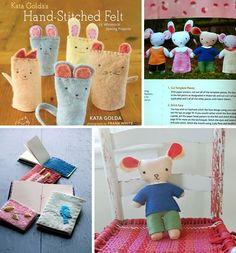 crafty felt books