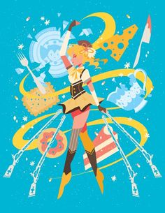 Mami! The product Madoka Magica Prints is sold by alumi in our Tictail store.