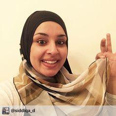 The lovely @siddiqa_d rocking our AJMAAN two toned pin free hijab. Mashallah! .#ajmaan #ajmaanuk #dubailife #dubaicustomer