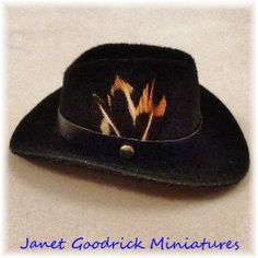Dolls House Cowboy Hat