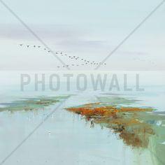 Flying Birds - Fototapeten & Tapeten - Photowall