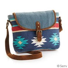 New Accessories - Kilim Crossbody Bag