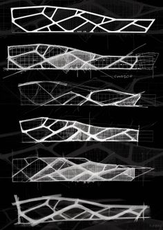 Architectural Design Art – All about Architectural Design Architecture Design, Architecture Concept Drawings, Architecture Board, Organic Architecture, Facade Design, Futuristic Architecture, Exterior Design, Houston Architecture, Parametric Design