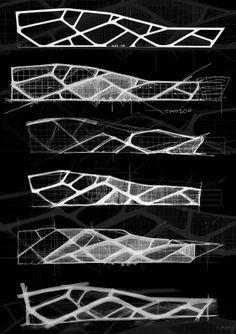 Architectural Design Art – All about Architectural Design Concept Models Architecture, Conceptual Architecture, Architecture Concept Drawings, Facade Architecture, Houston Architecture, Biomimicry Architecture, Origami Architecture, Facade Design, Exterior Design