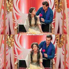 Kaira luvers Kartik And Naira, Choli Dress, Kaira Yrkkh, Indian Drama, Mohsin Khan, Hai, Sweet Couple, Her Smile, Celebs