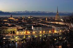 View of Torino from Monte dei Cappuccini
