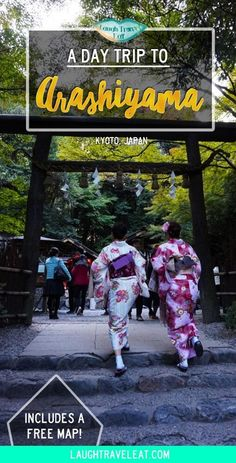 Arashiyama is just outside of Kyoto, Japan. Famous for its bamboo forest and temples. Here's how a perfect day trip there looks like: