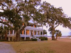 Tidalholm...The house where the Big Chill was filmed...on the Old Point in Beaufort.