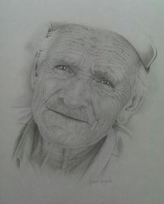 art by karen angelo - Old Man of the Sea