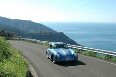 Auto d'epoca a Porto Lotti (via velaemotore.it)