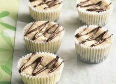 Cookies 'n Cream Mini Cheesecakes Recipe tablespoon.com