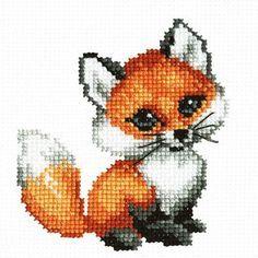 вышивка крестом лисы - Поиск в Google