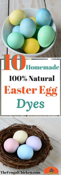 Commercial Easter egg dyes are full of questionable ingredients - and kids don't need them! Here's how to make organic and all natural Easter egg dyes right in your own kitchen! Raising Backyard Chickens, Backyard Poultry, Pet Chickens, Keeping Chickens, Kinder Easter Egg, Easter Egg Dye, Easter Food, Chicken Humor, Building A Chicken Coop