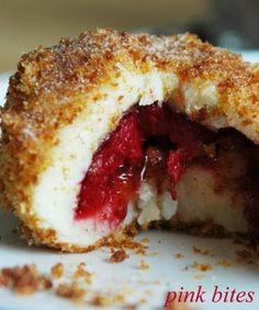 Pink Bites: Hungarian Plum Dumplings