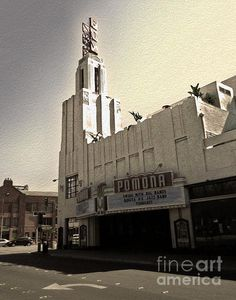 Fox Theater - Pomona.  Our first kiss was here.