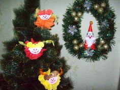 Easy Christmas Crafts for Children. Handmade Angels from Paper Napkins, Tutorial