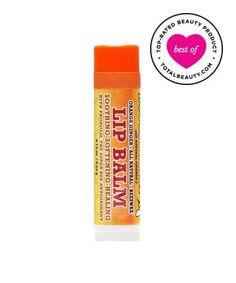 Best Lip Balm No. 1: Beessential Orange Ginger Lip Balm, $2.99