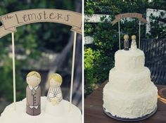 Love the ultra-cute cake toppers of course - the banner is an awesome addition