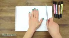 dibujos de manos en 3d - YouTube