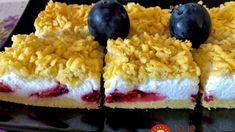 Slivkový koláč z jarmoku, jemný ako pena: Žiadny tvaroh ani smotana a pritom úžasne krémový! Fondant, Grains, Rice, Lunch, Blog, Basket, Eat Lunch, Blogging, Gum Paste