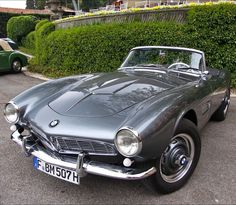 BMW 507... gorgeous sports car. A '58 model recently sold for just north of $2.25 million. Another bucket list car.
