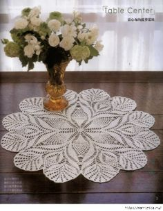 Crochet: tablecloth   good site with patterns