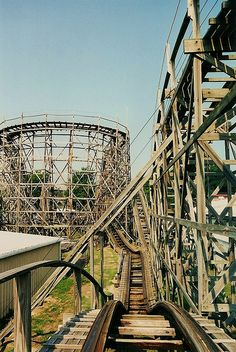 So afraid of these! White rollercoaster was my first attempt to get over this fear :) @Alyssa Smith