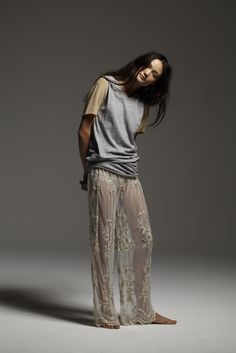 Digging these lace pants!
