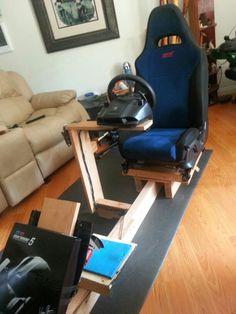 Homemade driving simulator by Thomas Thomas
