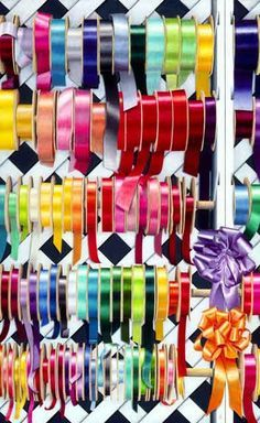 Ribbons by Gary Greene Colored pencil