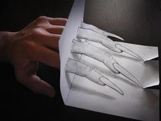 Anamorphdrawings04 Умопомрачительные 3D рисунки