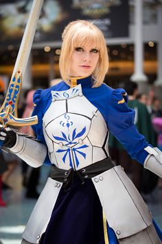 Saber (Fate/Stay Night) | Anime Expo 2015