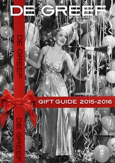 De Greef Gift Guide  A little help to make up your mind on what to give for the holidays...And happy 2016 from the whole De Greef team