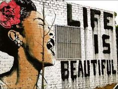 Street art featuring Billie Holiday