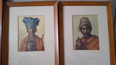 Pair of C H Greaves signed water color portraits, woman smoking pipe and man smoking pipe. Purchased in the . Portraits are in 13 Frames. Actual portraits appear to be size. Man Smoking, Frames, Portraits, Watercolor, Woman, Painting, Oil, Etsy, Vintage
