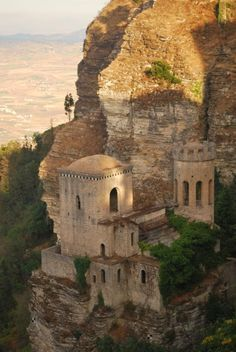 Erice Castle ~ Trapani, Sicily, Italy