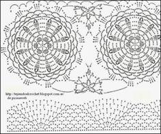 TEJIDOS A CROCHET - GANCHILLO - PATRONES: LINDA FALDA TEJIDA A GANCHILLO ,