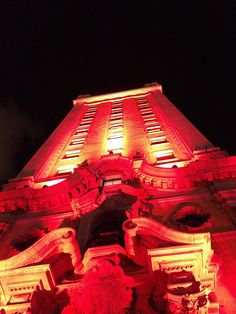 TED Red on Miami Freedom Tower