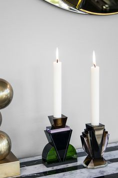 Brookyn and Queens candle light holders