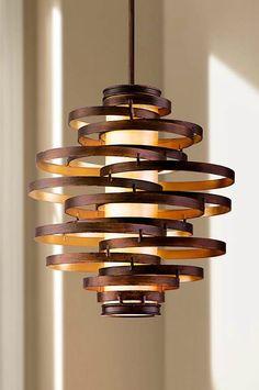 This fabulous Corbett Lighting pendant chandelier has a distinctive, modern look. Chandelier Design, Entry Chandelier, Chandelier Lighting Fixtures, Pendant Chandelier, Ceiling Pendant, Lamp Design, Lighting Design, Pendant Lighting, Light Fixtures