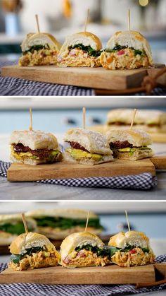 Esses três incríveis sanduíches são a cara do verão!