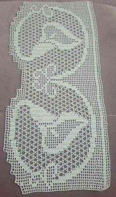 Crochet Curtains, Chrochet, Filet Crochet, Crochet Patterns, Rugs, Crochet Table Runner, Crochet Curtain Pattern, Crochet Lace Edging, Crochet Designs