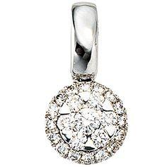 Dreambase Damen-Anhänger 23 Diamant-Brillanten 14 Karat (... https://www.amazon.de/dp/B00AB3M1VC/?m=A37R2BYHN7XPNV