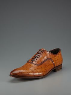 Antonio Maurizi - embossed leather laceups (even though I AM partial to brown shoes, I only post them because the details show up better)
