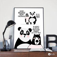 Epiphany, Motto, Home Art, Panda, Poems, Positivity, Humor, Wall Art, Funny