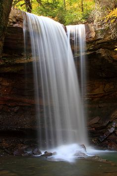 Love Cucumber Falls, Ohiopyle, PA. (And waterside.)