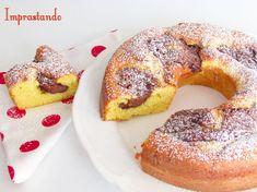 Per una buona colazione o merenda godetevi la ciambella al mascarpone e nutella.