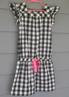Oliver + S croquet dress in a size 6 but cut a size 7 length at the waist and hem (sleeves from Children's Corner Hilliary) Kids Outfits, Cute Outfits, Sewing For Kids, Sewing Ideas, Tween Girls, Girls Rompers, Little People, Flutter Sleeve, My Girl